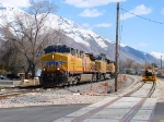 UNION PACIFIC'S DENVER-SALT LAKE CITY MANIFEST,MARCH 27,2010 BACKMAN'S CROSSING,PROVO,UTAH.